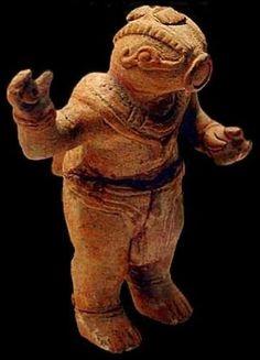 the Nazca Astronaut; reptilian figure