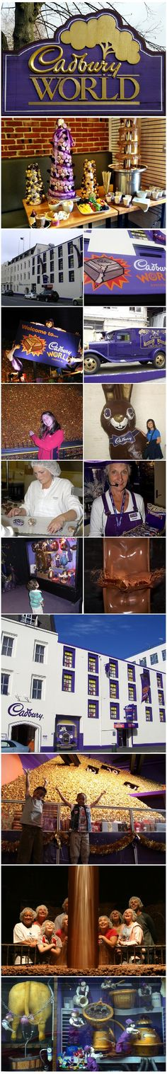 Chocolates Factories - Cadbury World, Dunedin, New Zealand