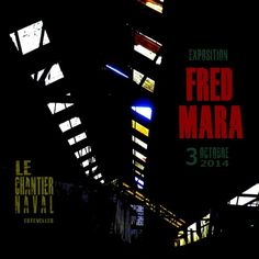 FRED MARA exhibition, October3, Estevelles : please ask for your personal card !