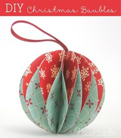 81 best Paper Christmas Ornaments images on Pinterest | Christmas ...