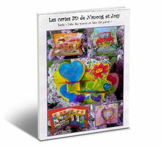 Des super-cartes en 3D à réaliser pour la fête des mères...