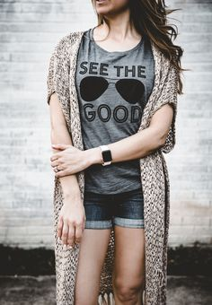 See The Good | Look For The Good | Inspirational | Positive Thoughts | Adult Tank _ Mama Said Tees