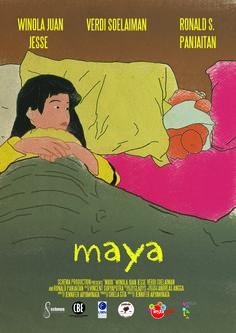 Poster Terbaru film Maya
