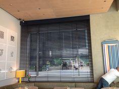 Warema External Blind fitted internally at Granger & Co #restaurant in #Kingscross London