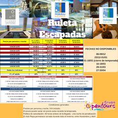 Ruleta Hoteles Holiday World **** (Benalmádena, Málaga) ---- Oferta ROMÁNTICA, de 2 a 4 noches Oferta SPA, de 2 a 4 noches ---- Más info y condiciones en www.opentours.es --- #holidayhydros #holidaypolynesia #holidaypalace #holidayworld #benalmadena #costadelsol #malaga #andalucia #ofertas #escapadas #paquetes #hoteles #apartamentos #romanticas #spa #Opentours #GrupoOpentours #Agenciadeviajes #agentesdeviajes
