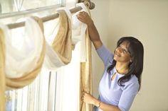Como fazer um dossel para cortinas