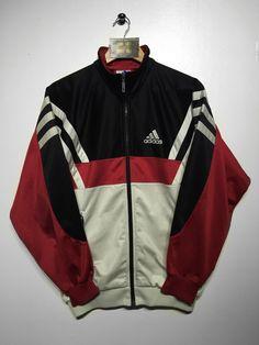 Adidas track jacket Size Small £30 Website➡️ www.retroreflex.uk #adidas #vintage #retro #oldschool #truevintage