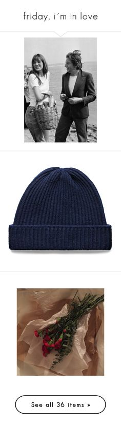 """""""friday, i´m in love"""" by violevlasic ❤ liked on Polyvore featuring men's fashion, men's accessories, men's hats, hats, mens beanie hats, mens wool hats, pictures, tops, shirts and crop tops"""
