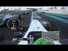 0-100 km/h - 3,5s - Sauber Ferrari F1 - Sergio Pérez - Abu Dhabi 2011