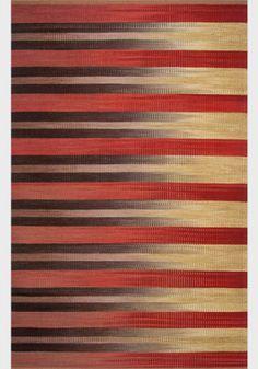 Desert Fadeout - x Artist: Connie Enzmann-Forneris Weaving Designs, Weaving Patterns, Textile Patterns, Textile Art, Weaving Textiles, Tapestry Weaving, Modern Tapestries, Woven Rug, Soft Furnishings
