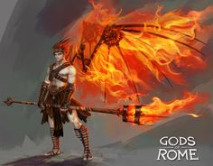 "Character designs made for ""Gods of Rome"", a fighting game on IOS and Androïd, by Gameloft. Those designs were made in the Art Team of Gameloft HQ Paris. Art Director : Pascal Barret ©Gameloft 2016 All rights are reserved to Gameloft Games"