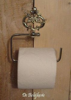 Toiletrolhouder ~ de luxe ~ kleur zilver Toilet Paper, Bathroom, Toilets, Lush, Accessories, Washroom, Full Bath, Bath, Bathrooms
