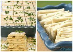 Zubereitungsschritte für Zupfbrot mit Kräutern. Perfektes Partybrot von einfachstephie.de
