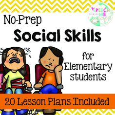 Don't waste your time lesson planning for social groups any more! Print and go with these lesson plan worksheets and use for a variety of students ranging from elementary school to middle school.