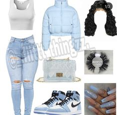 Swag Outfits For Girls, Teenage Girl Outfits, Cute Swag Outfits, Cute Comfy Outfits, Teenager Outfits, Dope Outfits, Girly Outfits, Trendy Outfits, Summer Swag Outfits