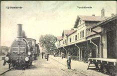 Dombóvár, Új-Dombóvár; Vasútállomás, 1931.