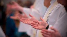 Holding Hands, Religion, Priest, Prayers, Spirituality