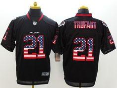 Atlanta Falcons 21 Desmond Trufant Black Salute To Service Limited Jersey