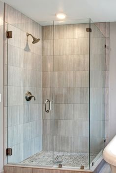 Image result for frameless glass shower