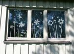 Lovala Fensterbilder - Geschenke für Valentinstag - Fenstertattoos, Glastattoos und Spiegeltattoos. Geschenke für Ostern, Frühlingsdekoration.