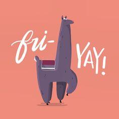 Instagram media by wonderfall - it's fri-yay, so .. llama.