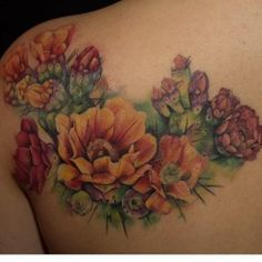 Thanks Erica! Colour Tattoo, Body Art Tattoos, Tattoo Artists, Cactus, Floral, Instagram Posts, Flowers, Sydney, Ideas
