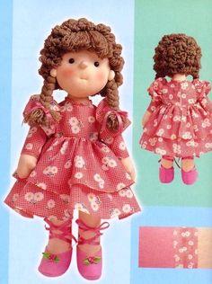 Выкройки кукол   VK Doll Patterns, Clothing Patterns, Soft Dolls, Toddler Toys, Doll Toys, Doll Clothes, Crochet Hats, Teddy Bear, Blog