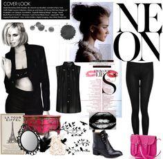 """Neon Pop"" by gonzalezshavany on Polyvore"