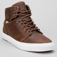 Modern high-top sneaker from the Vans OTW collection