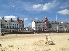 Weymouth Beach in Weymouth, Dorset