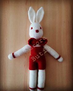 #amigurumi #handmade #elemeği  #knitting #knittingland #rabbit