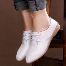 [Visit to Buy] Women Genuine Leather Oxford Shoes For Women Pointed Toe Casual Nurse Shoes Spring Autumn Flat shoes Women Loafers Shoes 2017 Oxford Shoes Outfit, Women Oxford Shoes, Loafers For Women, Casual Shoes, Shoes Women, Women's Shoes, Shoes 2017, Women's Casual, Flat Shoes