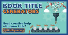 Access my list of the best book title generator tools. The creative name creating programs will help you pick niche perfect titles all for free.