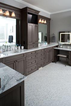Luxury Master Bath Floor Plans | Luxury House Plan Master Bathroom Photo 01 - 101S-0023 | House Plans ...