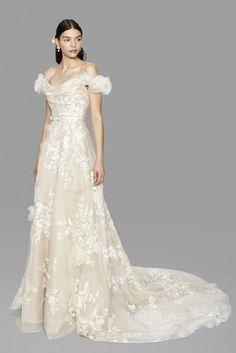 Robe de mariée 7 par Marchesa collection Bridal Couture 2017