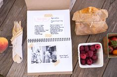 recipe book - for your mom or from guests