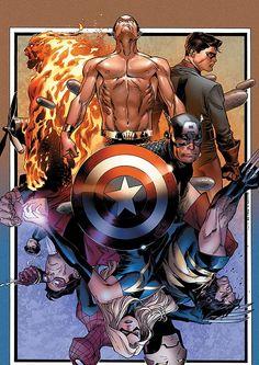 Avenger Invaders by Olivier Coipel, Danny K. Miki, & Justin Ponsor *