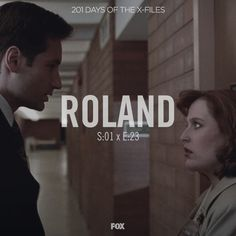 "Watch ""Roland"" with us today."