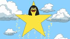 """When she imagined herself as the star she truly is. 