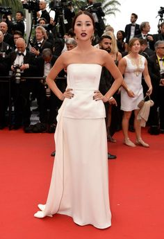 Nicole Warne in Dior Haute Couture and jewels #Cannes2015