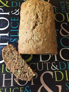 Healthy Zucchini Bread! This whole wheat bread is surprisingly tasty and even my kids can't tell it's healthy! 21 Day Fix Zucchini Bread!