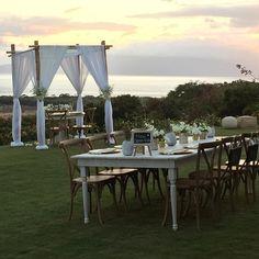 Boutique Maui Wedding Location with beautiful sunset view! www.amauiweddingday.com (808) 280-0611