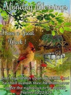 Monday Blessings ~~J Monday Morning Blessing, Blessed Morning Quotes, Good Morning Thursday, Cute Good Morning Quotes, Good Morning Greetings, Good Morning Wishes, Hello Quotes, Monday Quotes, Monday Pics
