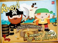 The Pirate's Treasure - a memo game for kids  Ahoy!  After several years of searching in the Caribbean the pirates have finally found Captain Blackbeard's hidden treasure-chest! But how are they going to divide the treasure? In a classic pirate duel of course - playing a game of memory!  Pick your pirate, use your brain and prepare to win the treasure!