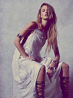 Gemma's Limited Edition White Dress
