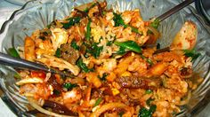 Bibim Bop, Rice with Vegetables Korean Style