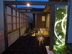 会議室から見える風景 株式会社エバーグリーンエクステリア 岡山県Y様邸-Lighting Meister