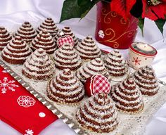 Bakery Recipes, Cooking Recipes, Holiday Dinner, Winter Holidays, Christmas Cookies, Food And Drink, Menu, Baking, Cake