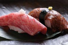 牛寿司&炙り牛寿司