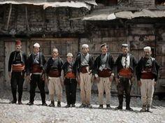 Auguste Leon - Albanians of Ohri 1913 (Albert Kahn Museum)